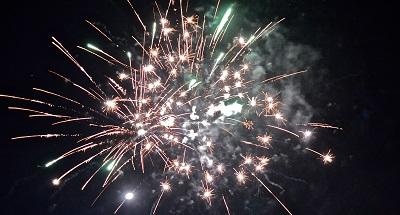 fuochi d'artificio trentino
