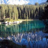 Dove si specchiano le Dolomiti