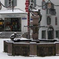 La fontana del centro