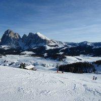 Lunghe piste da sci